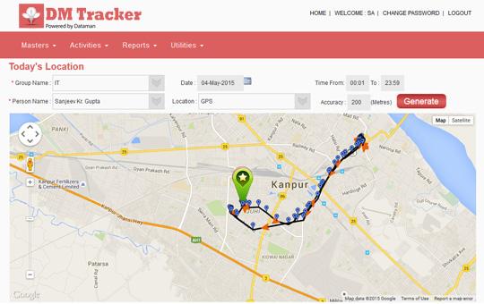 DM Tracker